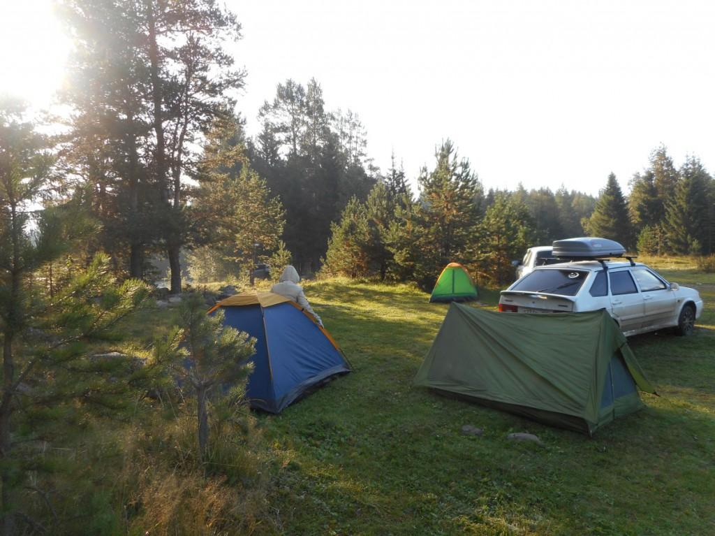 Это наш лагерь.