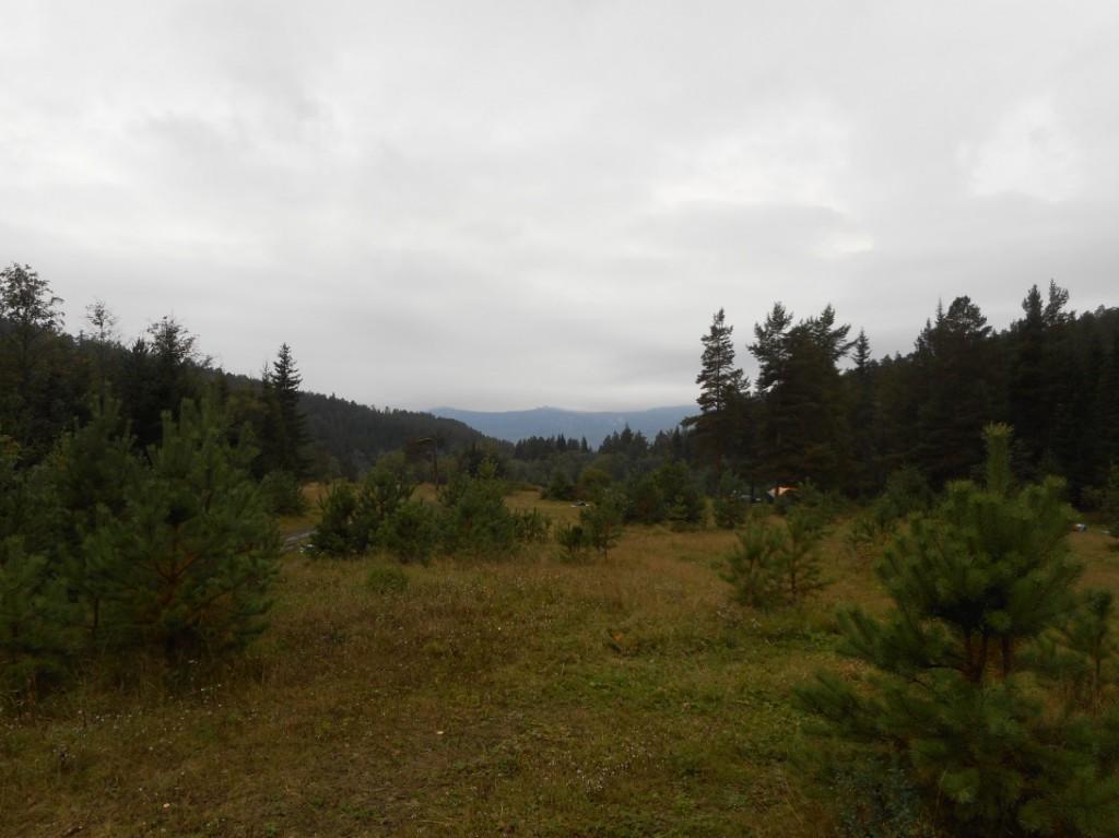 Хребет Зигальга. Вид с лагеря.