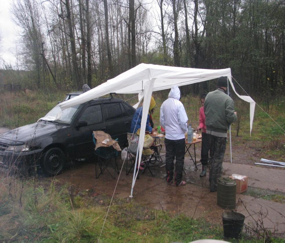 Сдул шатер