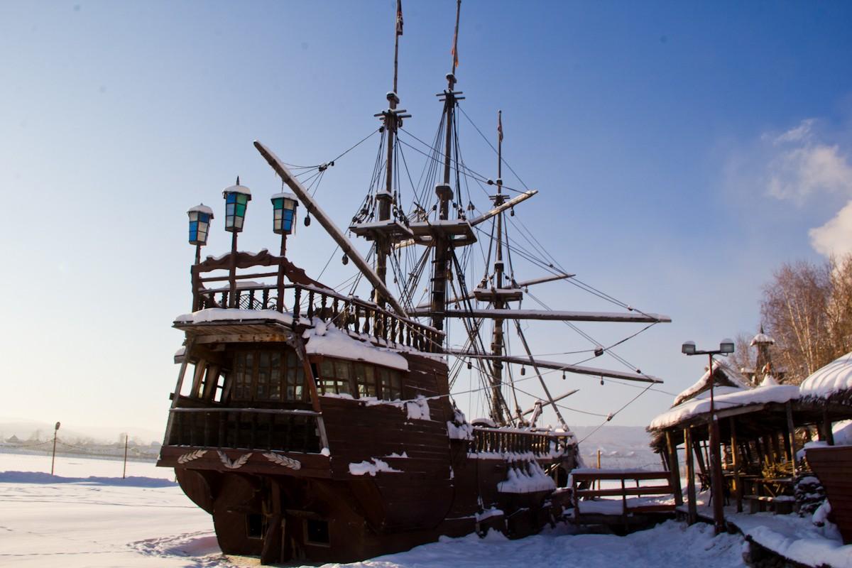 Корабли в Китовой пристани