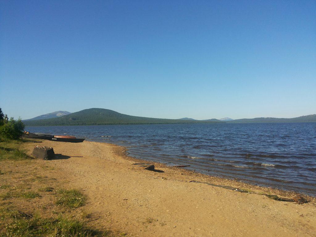 Озеро Зюраткуль утро