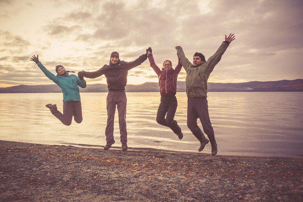 Озеро Тургояк. Хорошее настроение.