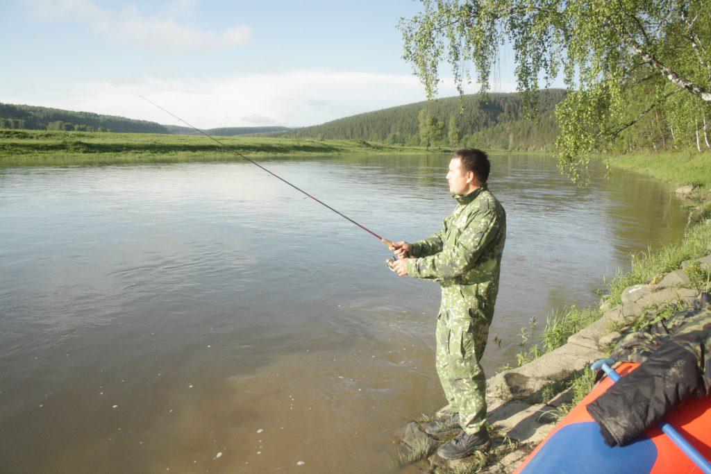 Фотография 11. Рыбалка на стоянке.
